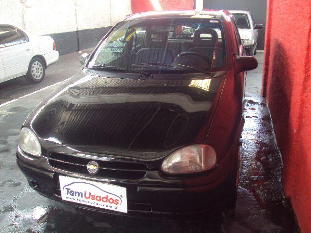 corsa hatch preto 1997 - chevrolet - guarulhos cód.213036 tem usados